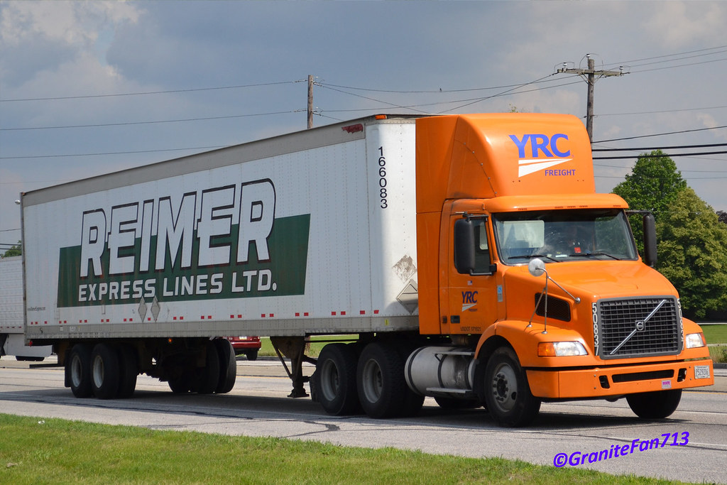 YRC Freight Volvo VNM with Reimer Van | Trucks, Buses