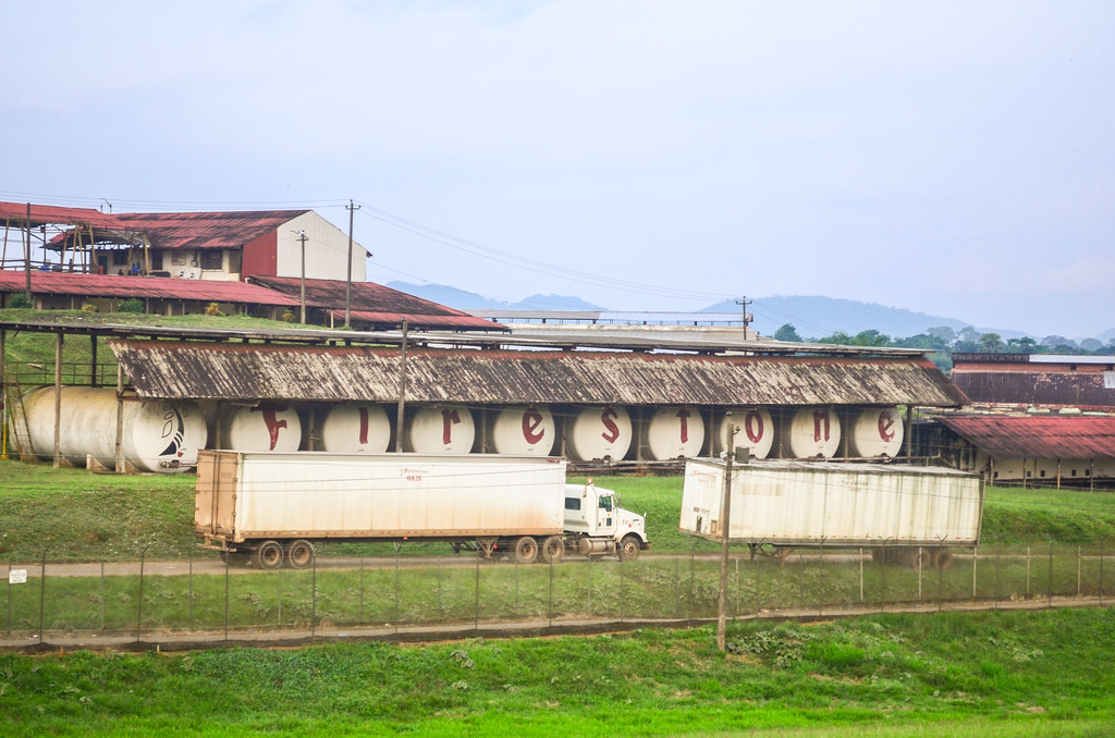 Firestone rubber plantation, Liberia | Taken on 14 August 20… | Flickr
