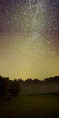 sky night way skyscape photo long exposure milky canon600d