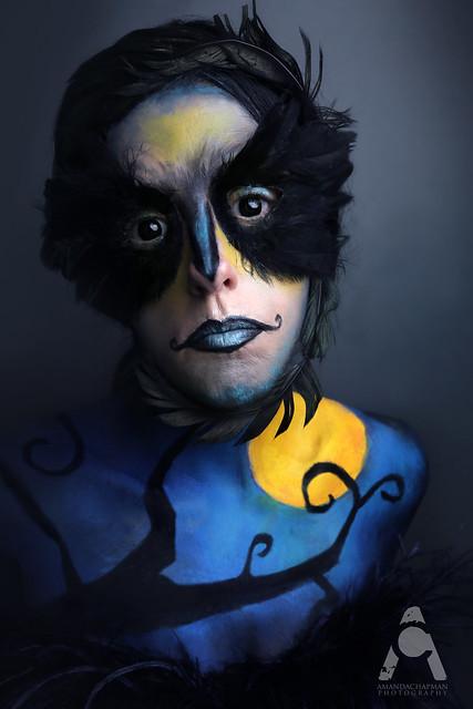 Crow, Burtonesque