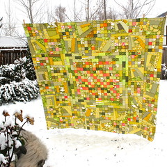 Stamps and Money Quilt