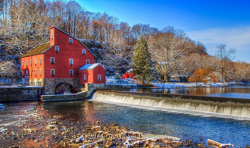 sky color mill nature water beautiful canon landscape eos newjersey december natural clinton postcard scenic nj dramatic haunted 7d waterscape redmill 2013 canon7d olétusfotos don3rdse 3rdsiblingphotography