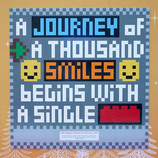 The Joy of LEGO Singapore 2012 Mosaic Design Contest - Winning Entry by Jeffrey Kong of BricksBen.com | by BricksBen LEGO® Creations