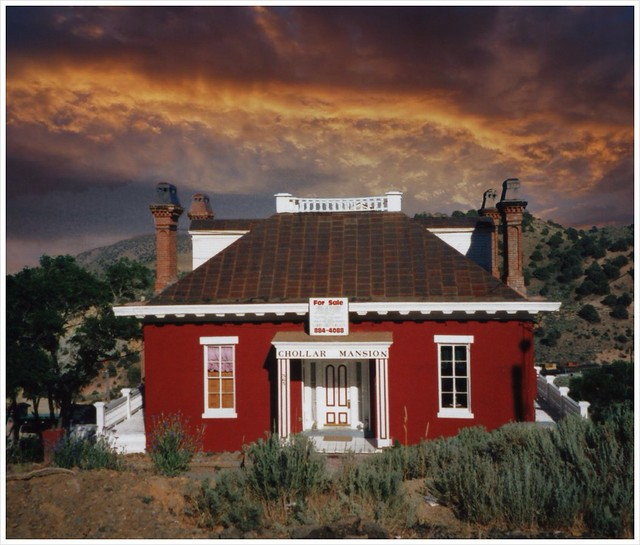 Chollar Mine Office/Mansion ~ Virginia City NV ~ Now Bed and Breakfast ~ Historic ~ My Old Film