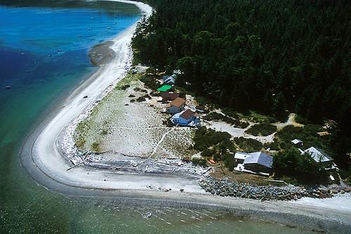 Savary Island, Strait of Georgia, Sunshine Coast, British Columbia, Canada