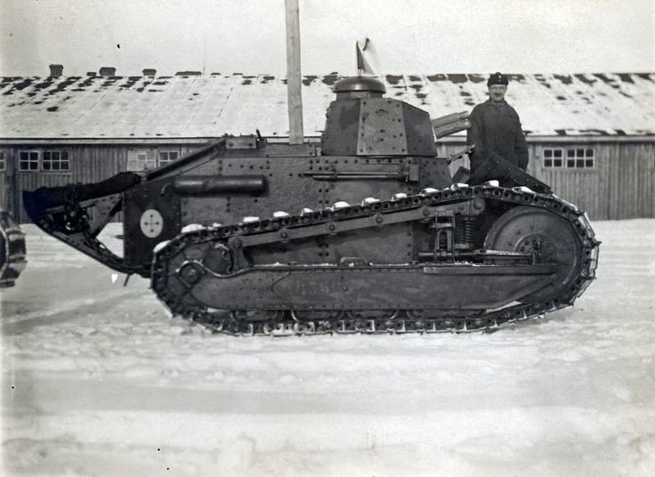 Finnish Army Renault FT-17