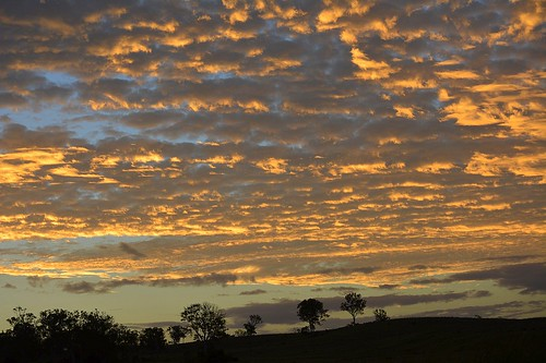 sunset sky silhouette clouds landscape countryside day cloudy sunsetclouds sunlitclouds