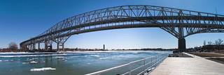 Blue water bridge   by ivlis