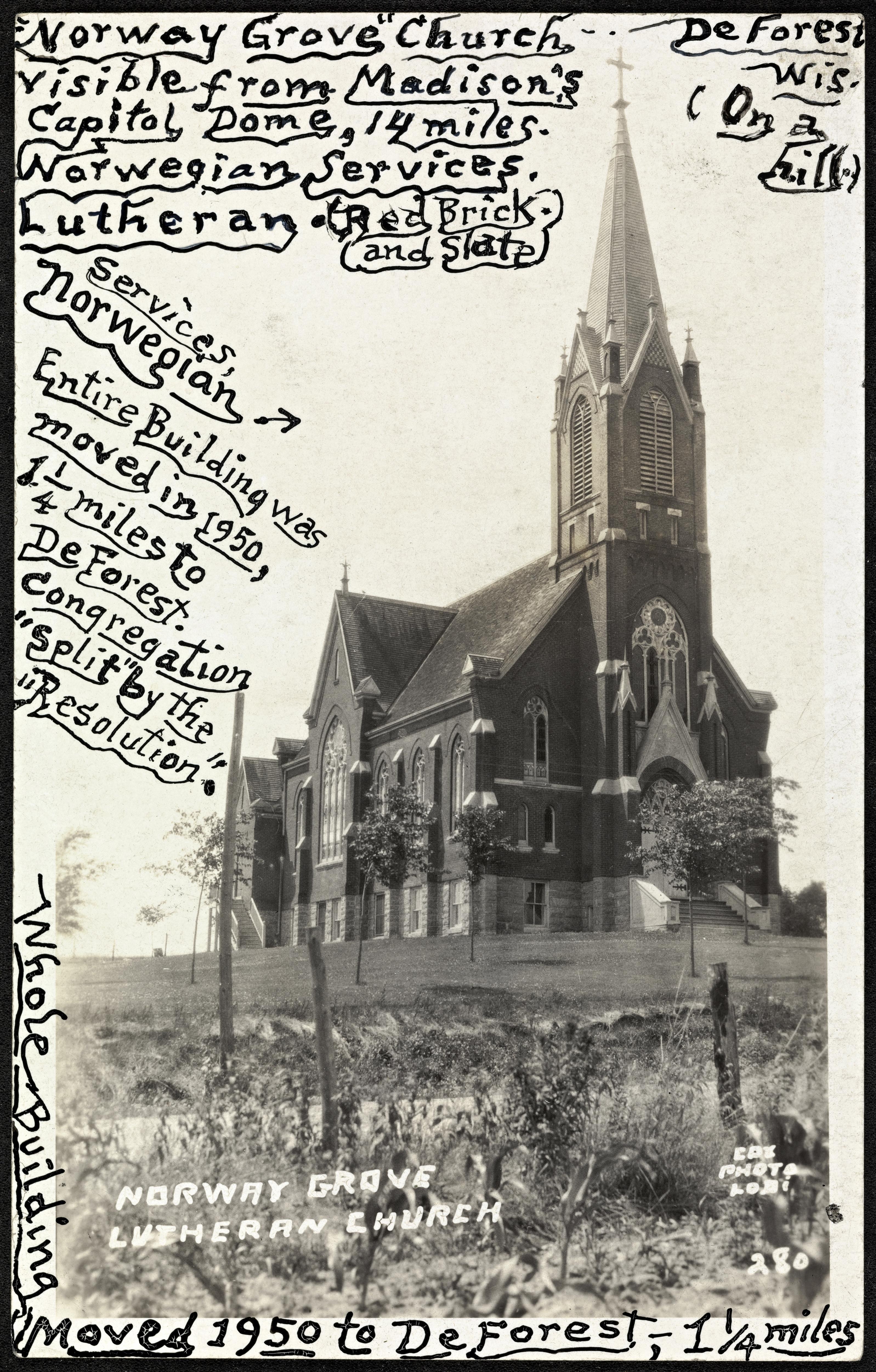 280. Norway Grove Lutheran Church