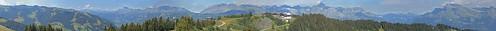 Mont d'Arbois 1833m , coté Aravis - Panorama légendé | by jc.tess