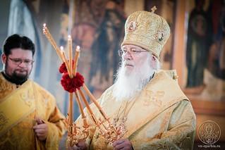 Литургия в Софийском соборе 190