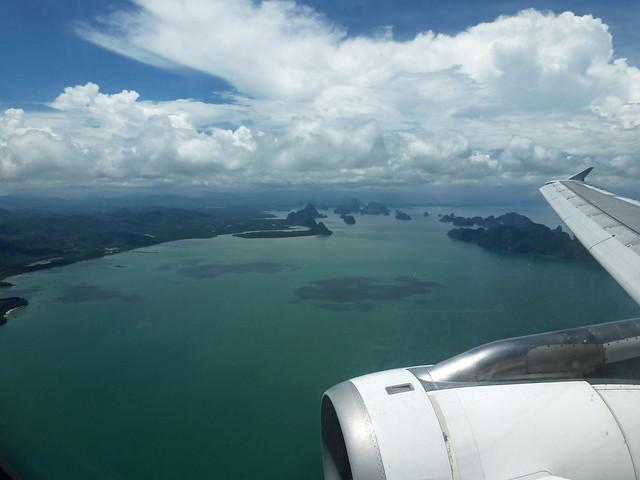 Sky view of Andaman Sea - Phuket, Thailand