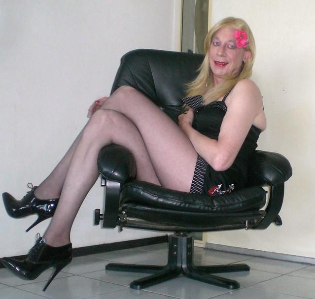 An easy chair.