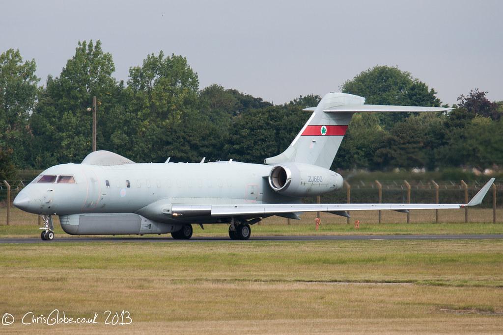 ZJ693 | Bombardier Sentinel R.1 | RAF - Royal Air Force