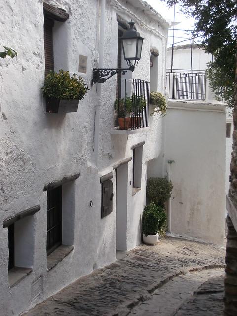 Village de Capileira, une ruelle