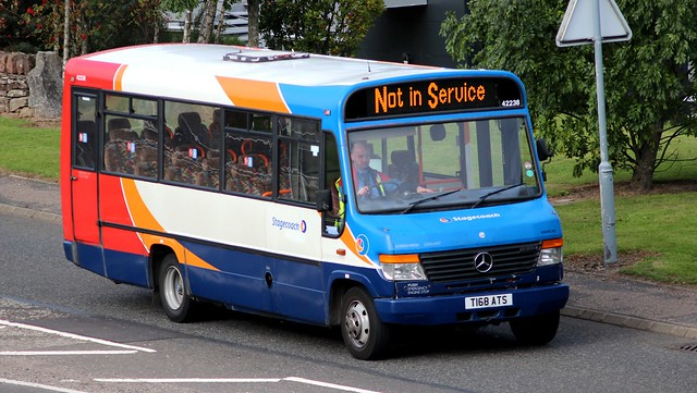 DENNIS Dart SLF Alexander ALX 200 - Stagecoach around Perth