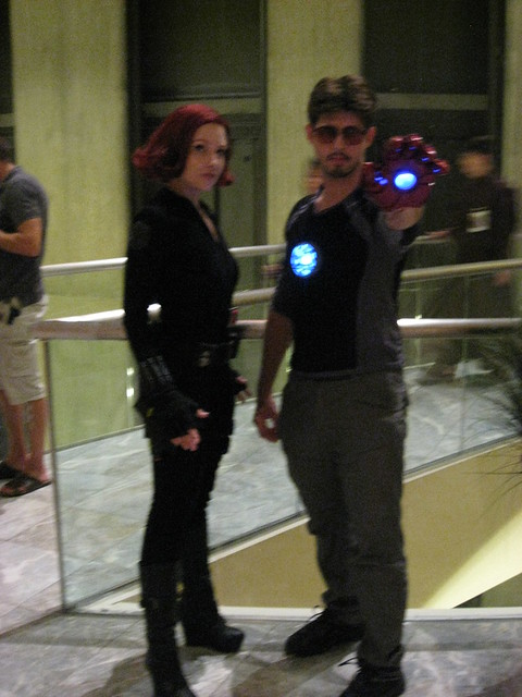 Iron Man and Scarlet Witch