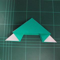 การพับกระดาษเป็นรูปเรือมังกร (Origami Dragon Boat) 014
