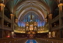 Notre Dame de Montréal Basilica, Canada