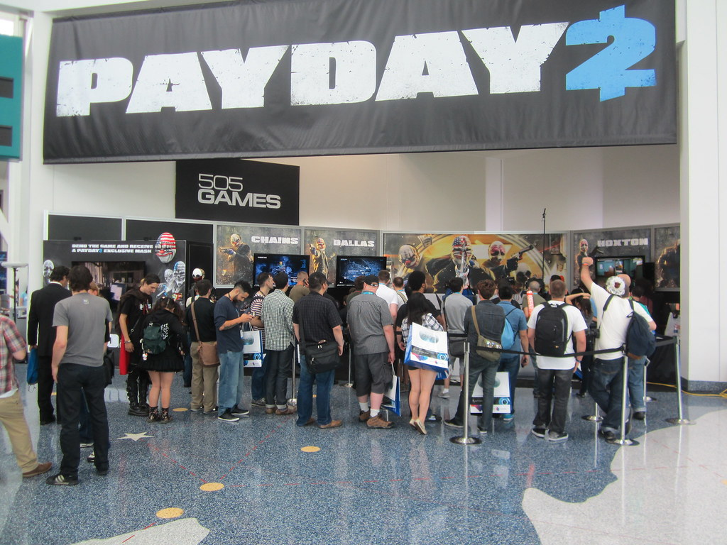 E3 2013 Payday 2 505 Games   Tarcil Tarcil   Flickr