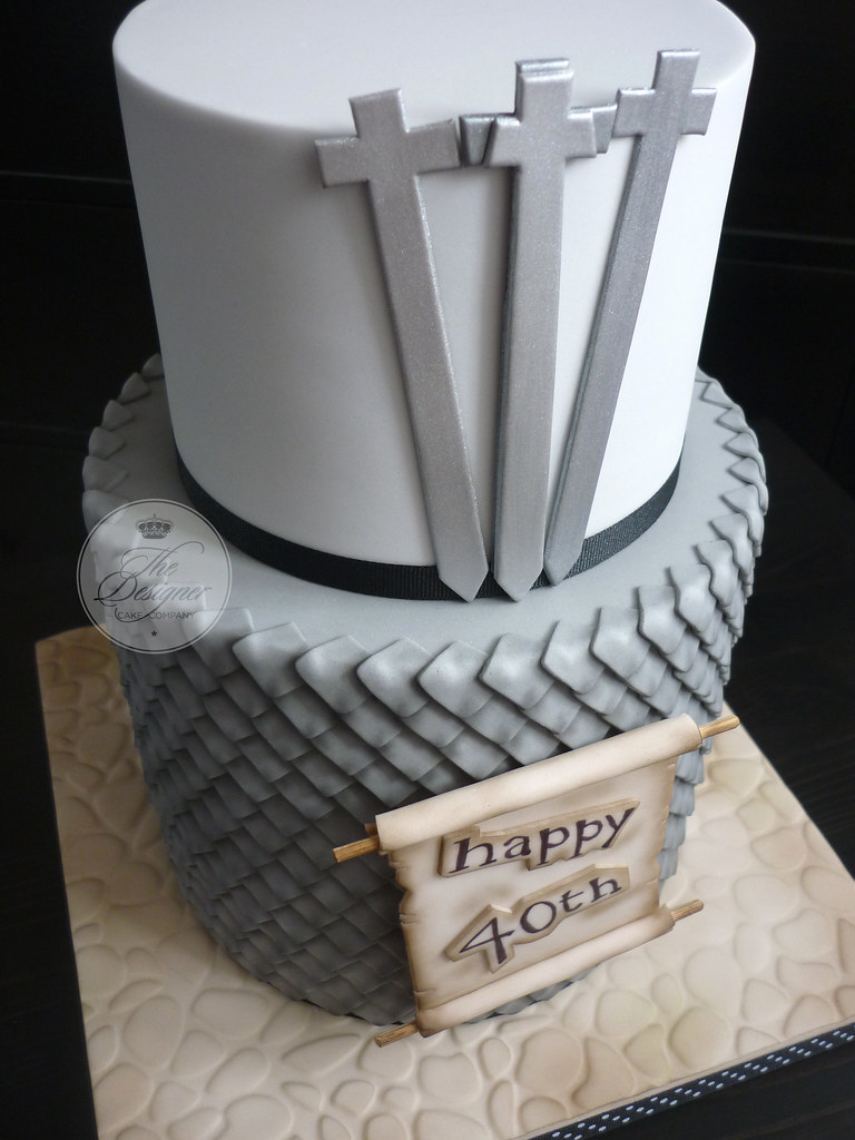 Astounding Game Of Thrones Birthday Cake Isabelle Bambridge Flickr Personalised Birthday Cards Cominlily Jamesorg