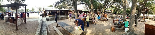Salt Lick BBQ panorama | by andrechinn