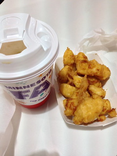 Cheese Curds and Coffee | by katbaro
