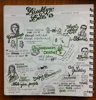 Geraldine Laybourne, Jodi Leo & David Marquet @ Brooklyn Beta 2013 | by evalottchen