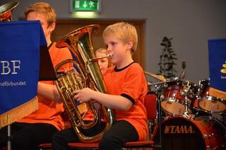 Brassbandfestivalen 2012 - Soloeufonium BYBB - Bor Youth Brass Band
