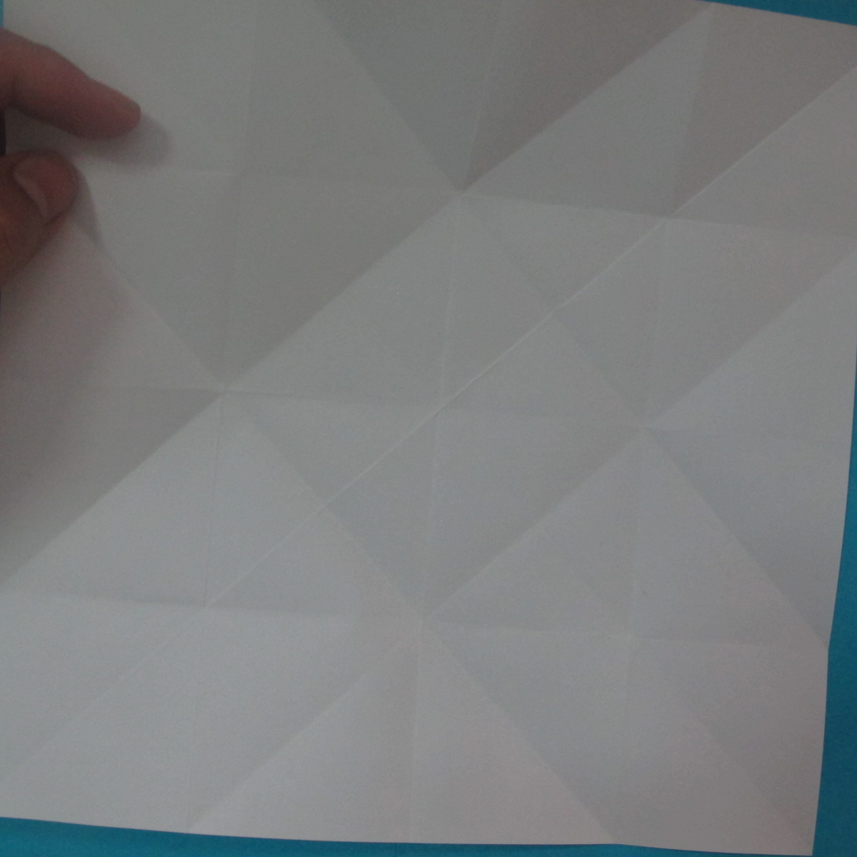 วิธีการพับกระดาษเป็นนกเพนกวิ้น 006