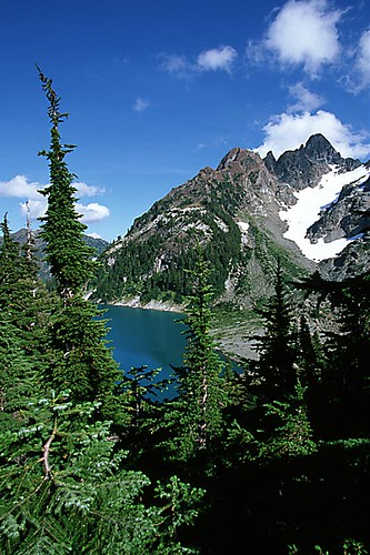 Cream Lake, Strathcona Provincial Park, Central Vancouver Island, British Columbia, Canada