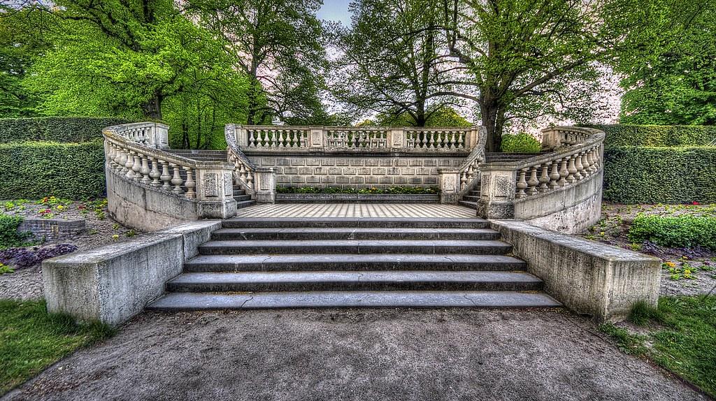landgoed clingendael.19   de frans stenen trappen van spring…   flickr