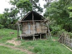 Lahu-Bambushütte - Chiang Rai