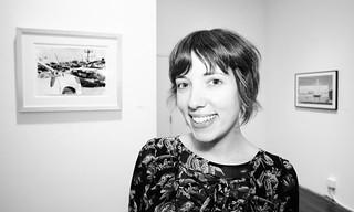 Gwendolyn Zabicki @ Frogman Gallery / Pop-Up Art Loop | by Paul Germanos