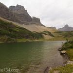 Lake in Shangri La Basin