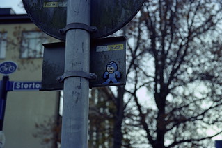 Mega man   by isakbergdahl