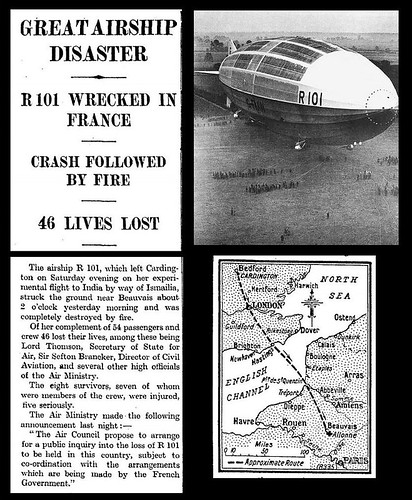 5th October 1930 - R101 Airship Disaster | by Bradford Timeline