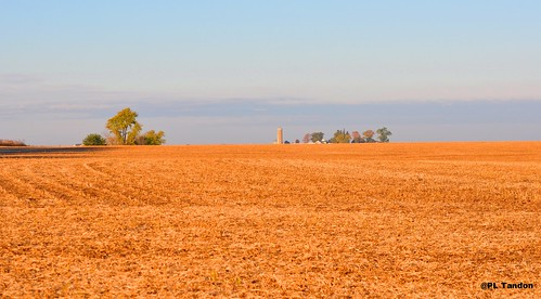 Fields after Corn Harvest -Cedar Falls, Iowa | by Scientific Photography (10 .6 Million+ views