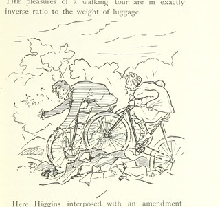 Image taken from page 23 of 'New Wheels in Old Ruts. A pilgrimage to Canterbury via the ancient pilgrim's way ... With pen and ink sketches by F. W. R. Adams' | by The British Library