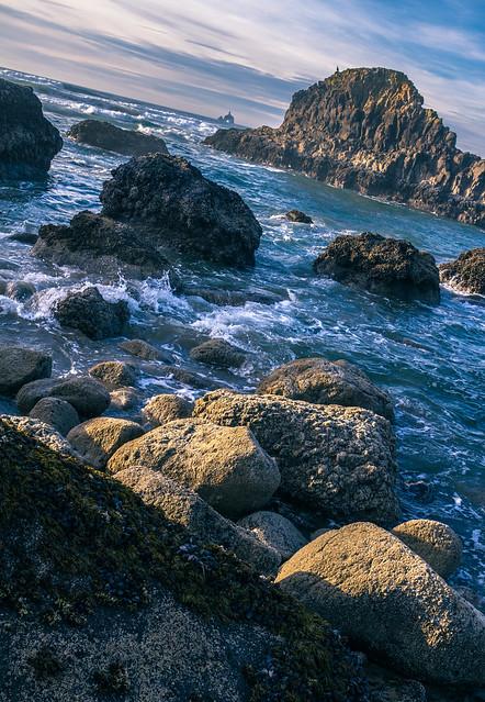 Rocks - Indian Beach, Oregon
