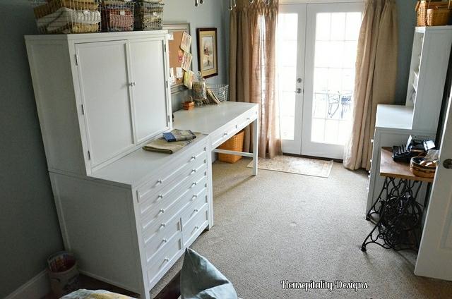Craft Room With Martha Stewart Furniture Craft Room With M Flickr