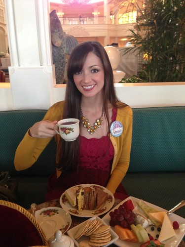 Tea Party at the Garden View Tea Room at Disney's Grand Floridian | by popthestack
