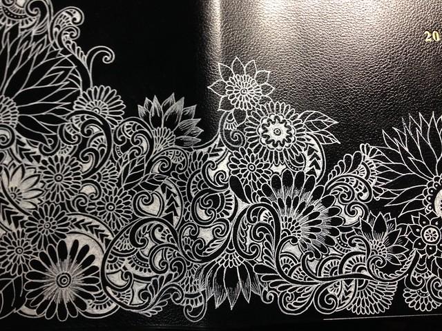 Botanical drawings (Diary book cover)