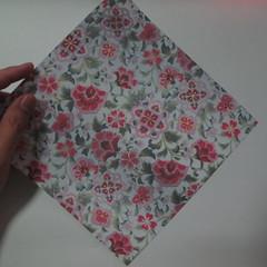 การพับกระดาษเป็นรูปหัวใจแบบ 3 มิติ 001