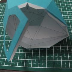 วิธีทำของเล่นโมเดลกระดาษรูปนก (Bird Paper craft ) 021