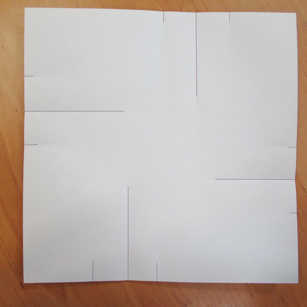 สอนการพับกระดาษเป็นที่ใส่ของรูปกลีบกุหลาบ (Rose box origami) 013