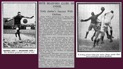 6th March 1920 - Bradford City and Bradford Park Avenue knocked out of the FA Cup | by Bradford Timeline