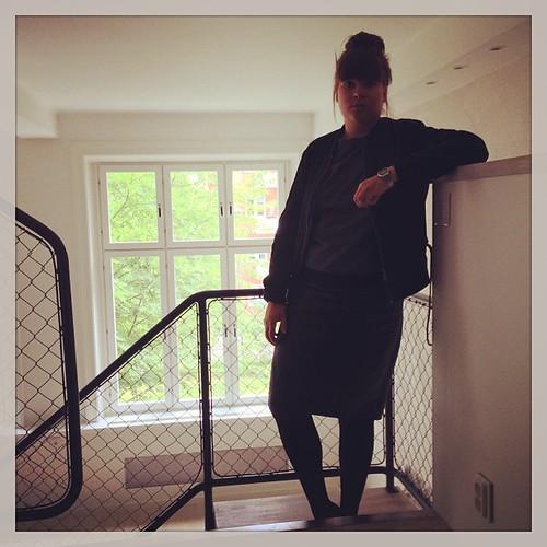 Nöjd @fridabucht i nya lägenheten