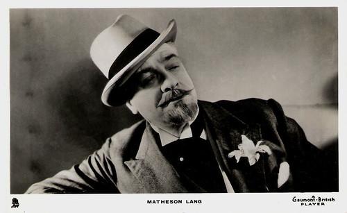 Matheson Lang