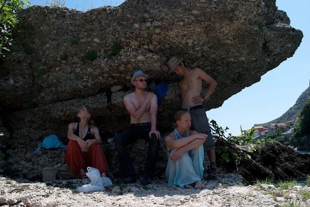 Hélène, Coco, Camille and me